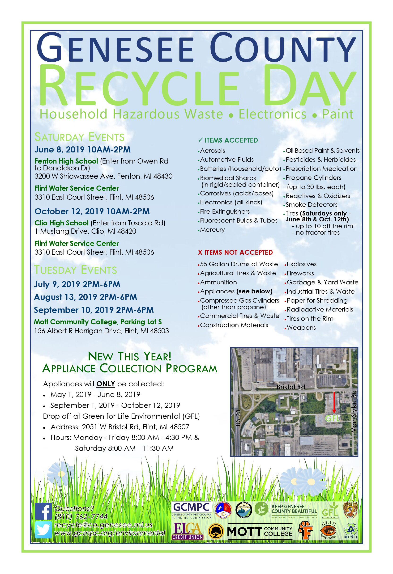 Recycle Day - Genesee County Metropolitan Planning Commission
